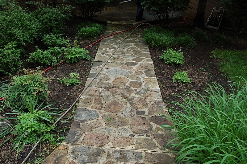 Stone cleaning cleaning natural stone glen mills lima Natural stone walkways
