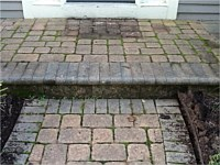 Paver Walkways Before and After